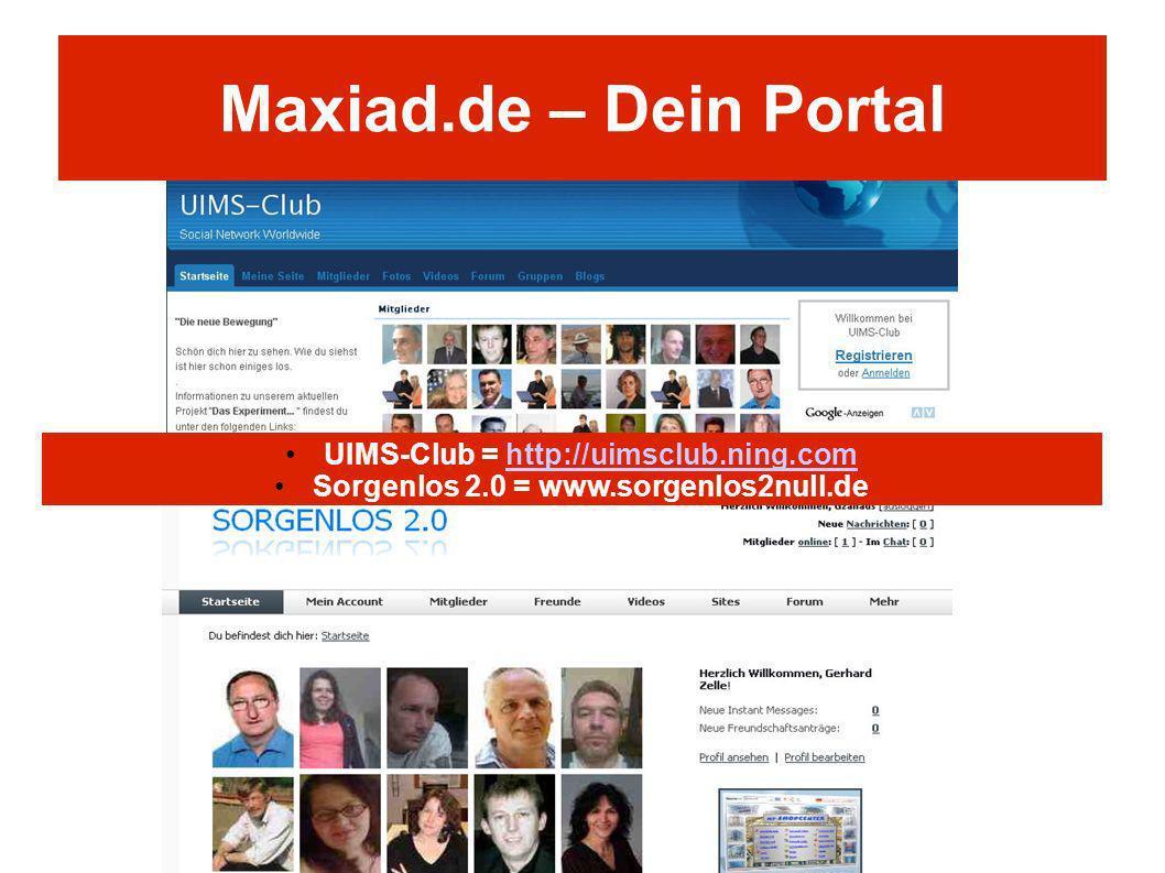 Maxiad.de – Dein Portal UIMS-Club = http://uimsclub.ning.com
