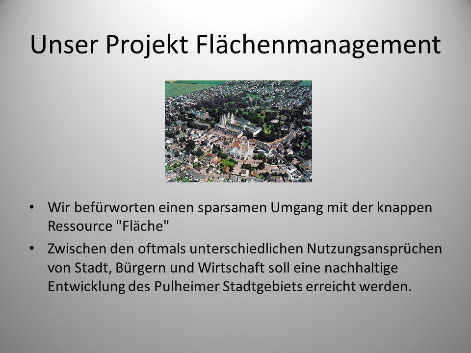 Unser Projekt Flächenmanagement