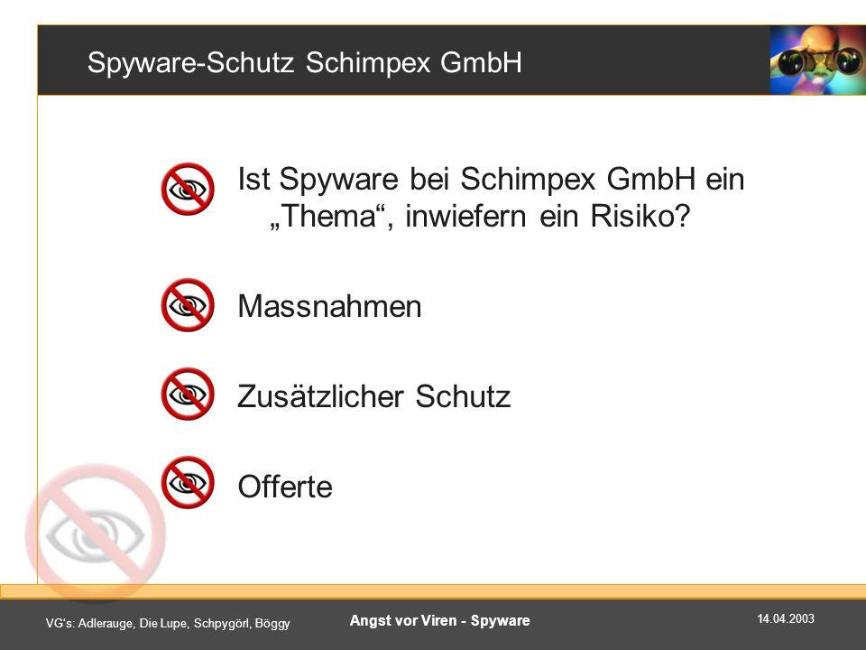 Spyware-Schutz Schimpex GmbH