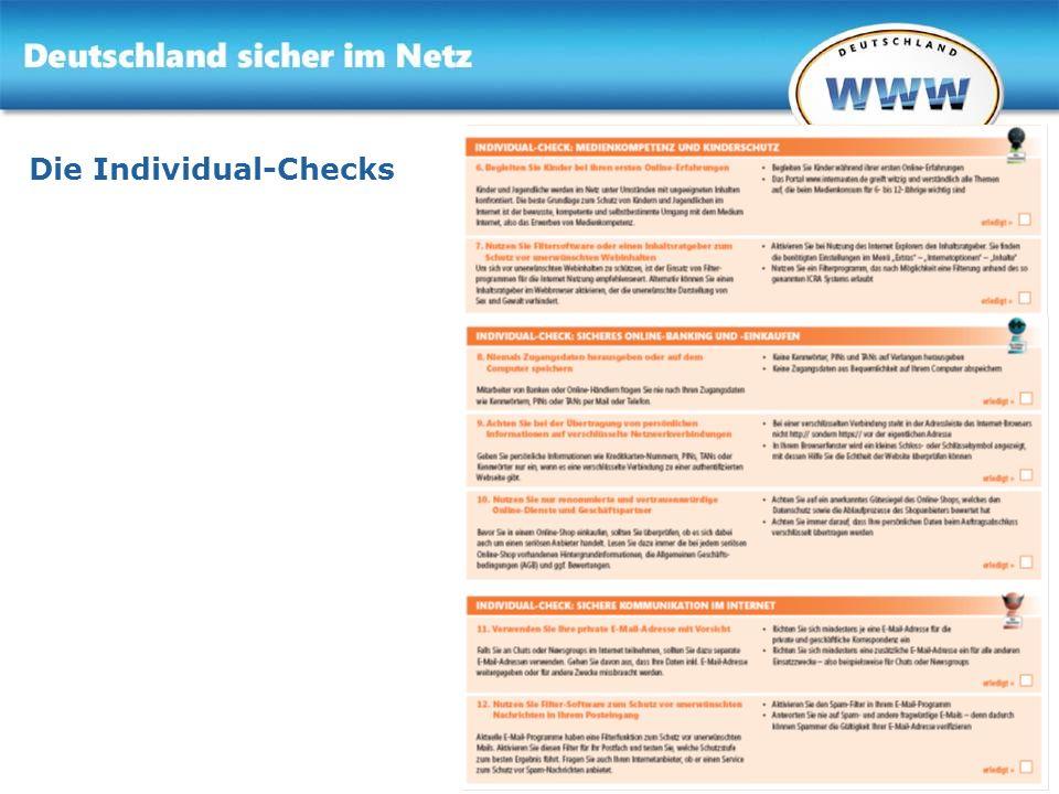 Die Individual-Checks