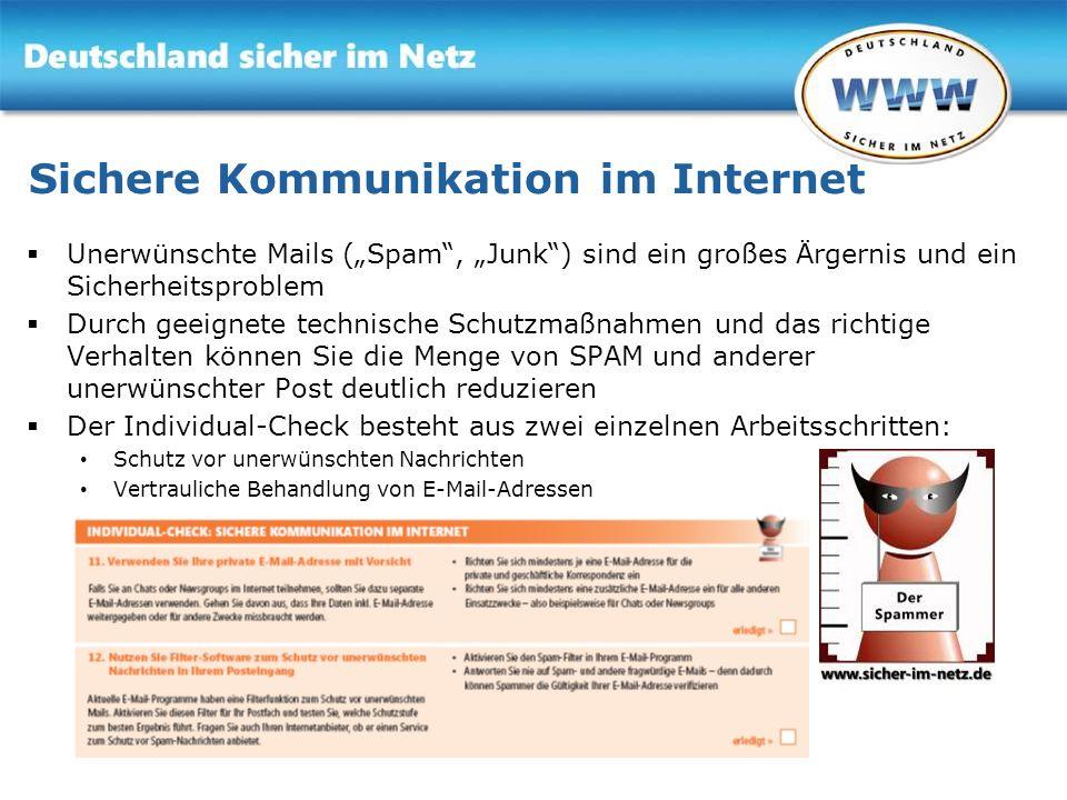 Sichere Kommunikation im Internet