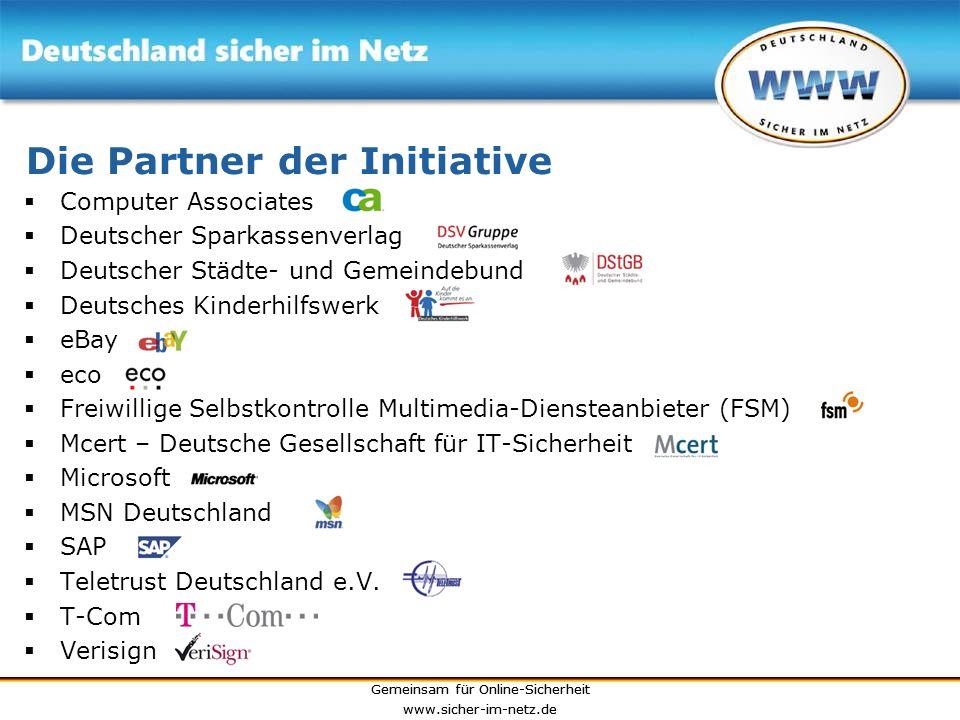 Die Partner der Initiative