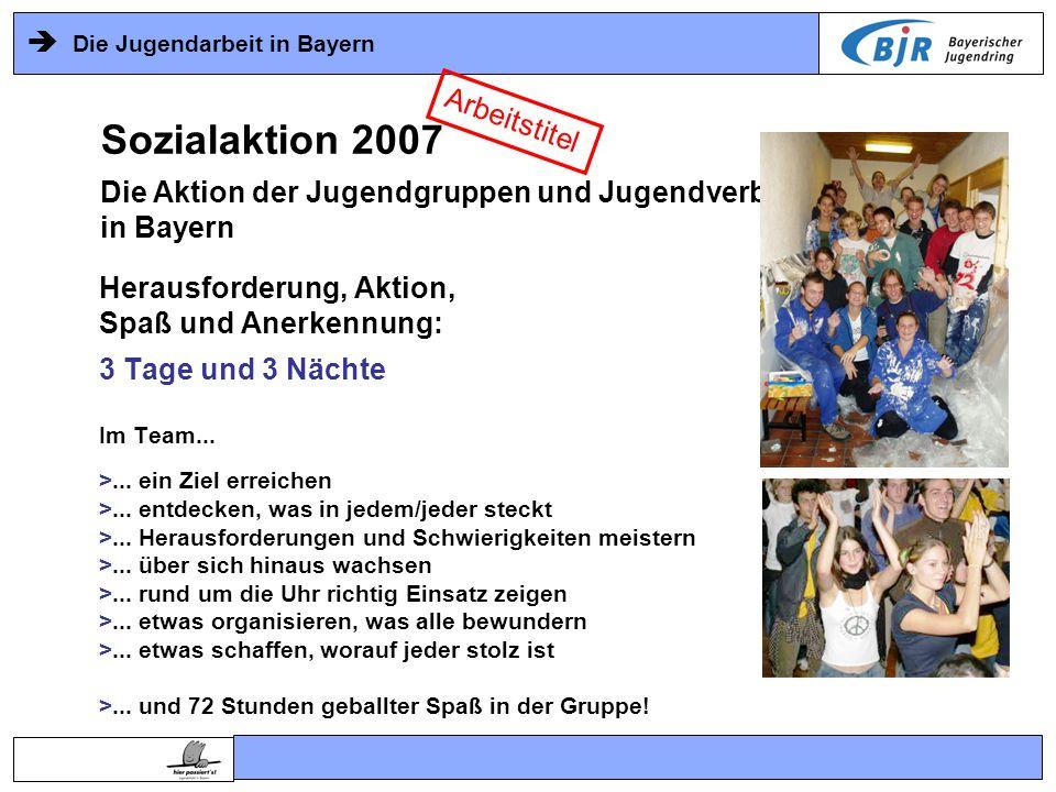Sozialaktion 2007 Arbeitstitel