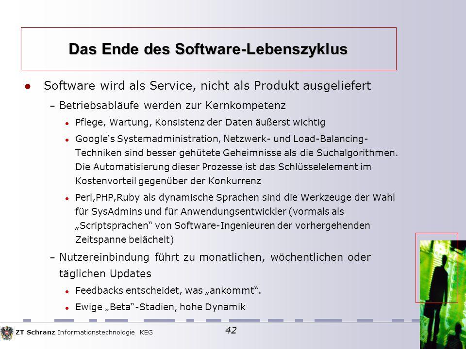 Das Ende des Software-Lebenszyklus