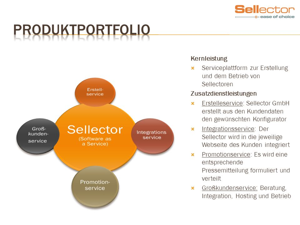 Sellector (Software as a Service)