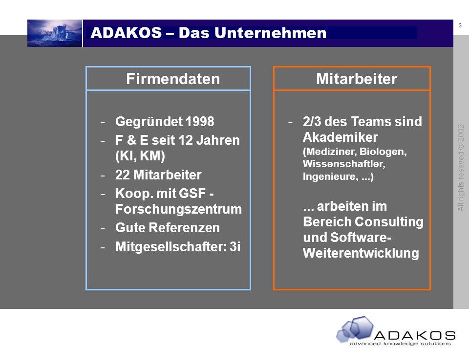 ADAKOS – Das Unternehmen