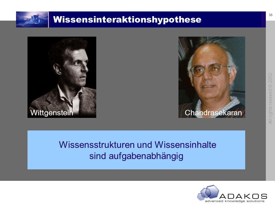 Wissensinteraktionshypothese