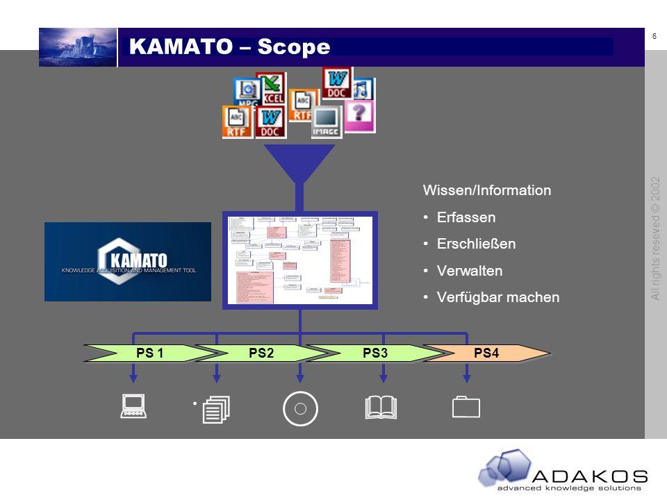 . : &  KAMATO – Scope Wissen/Information Erfassen Erschließen