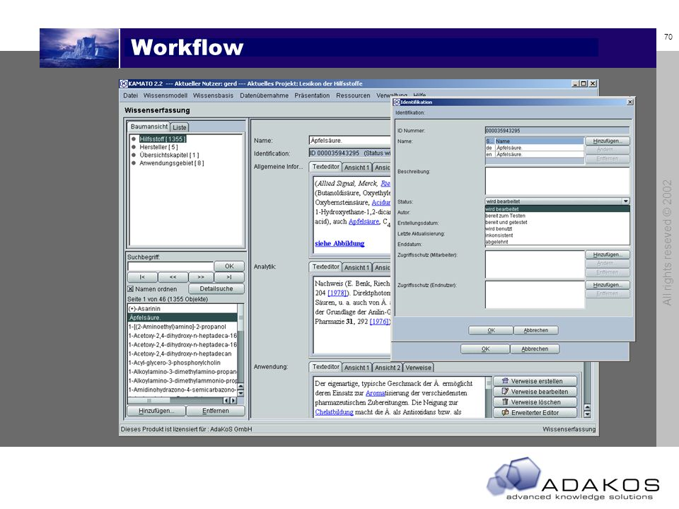 Workflow All rights reseved © 2002