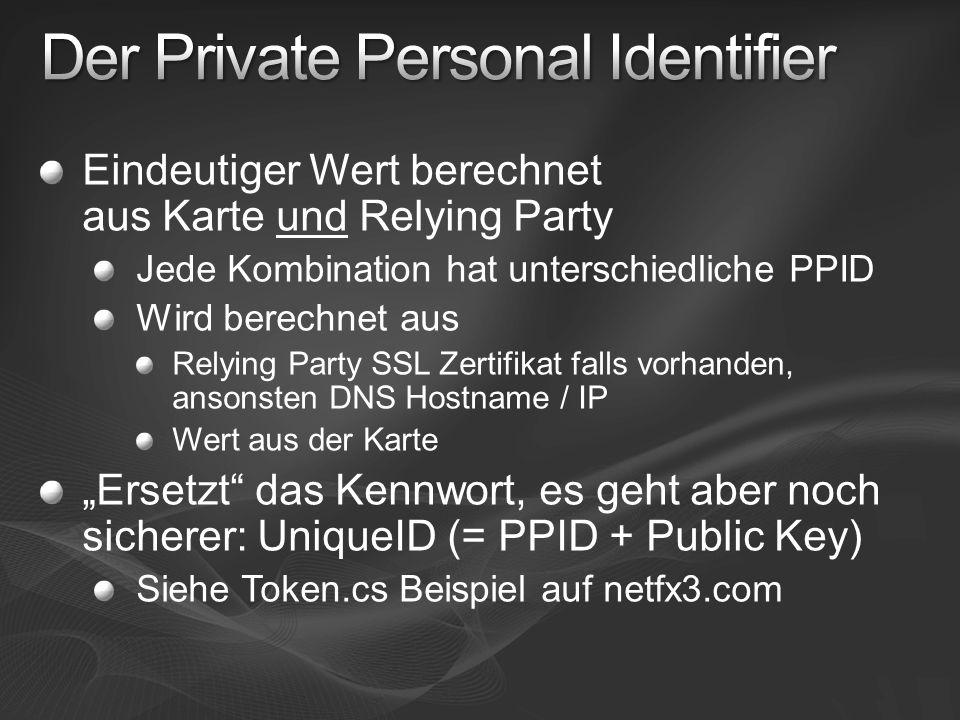 Der Private Personal Identifier