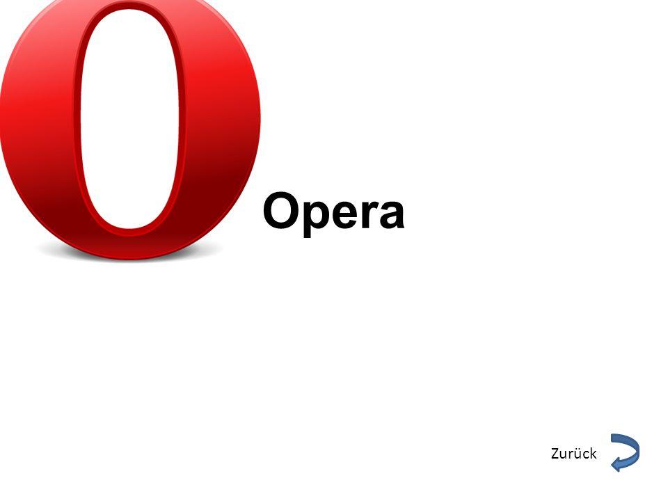 Opera Zurück