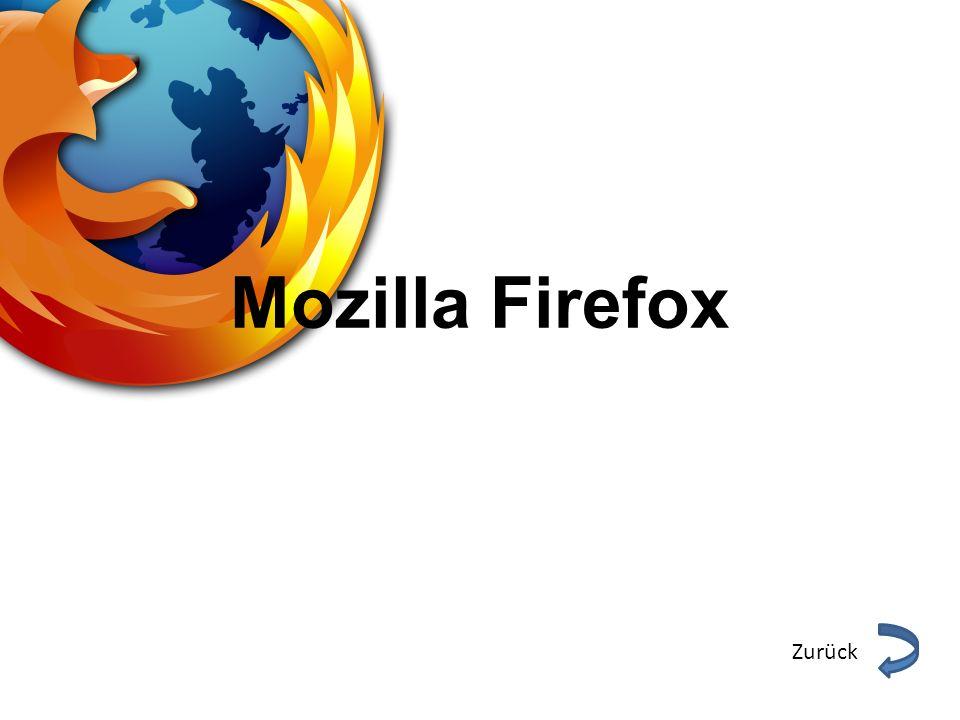 Mozilla Firefox Zurück