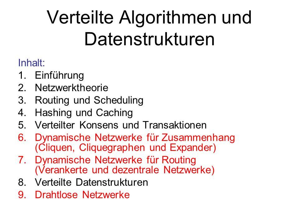 Verteilte Algorithmen und Datenstrukturen