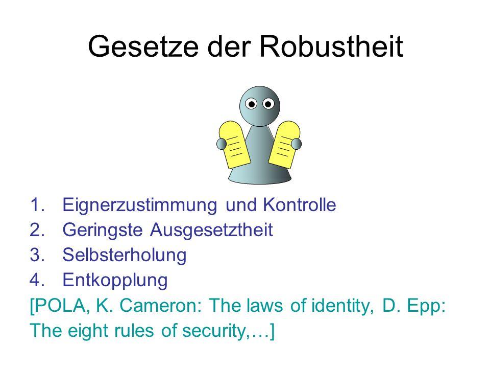 Gesetze der Robustheit