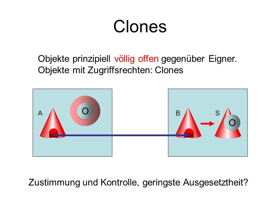Clones Objekte prinzipiell völlig offen gegenüber Eigner.
