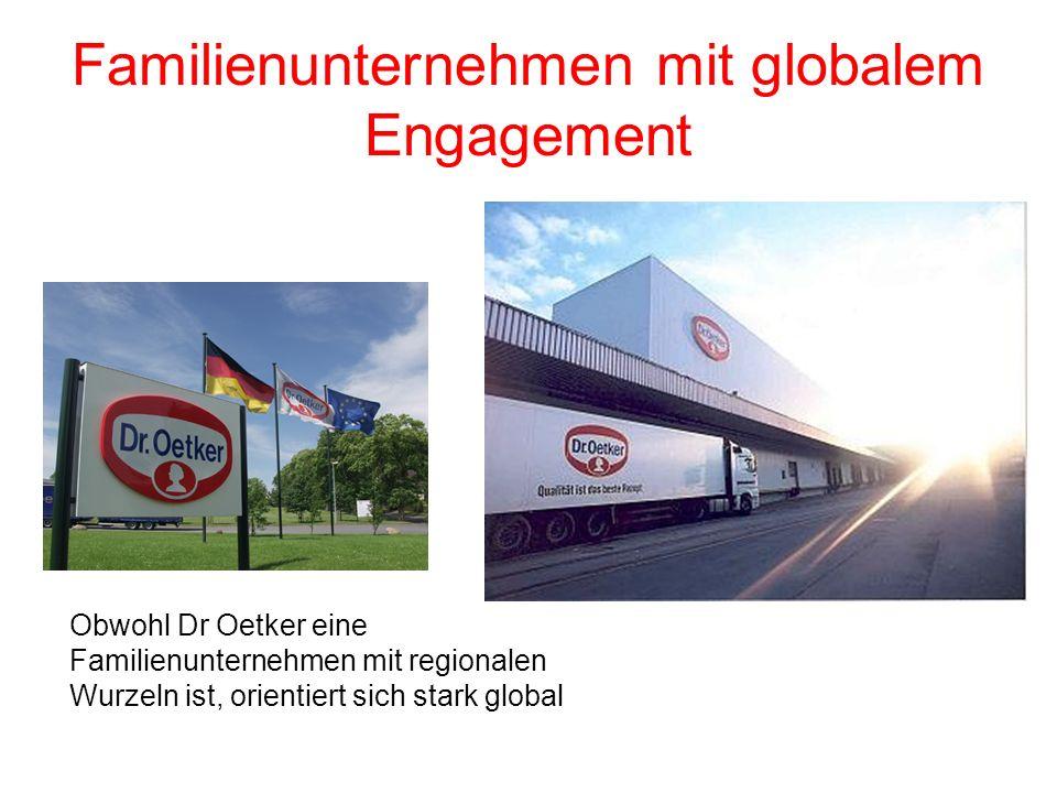 Familienunternehmen mit globalem Engagement