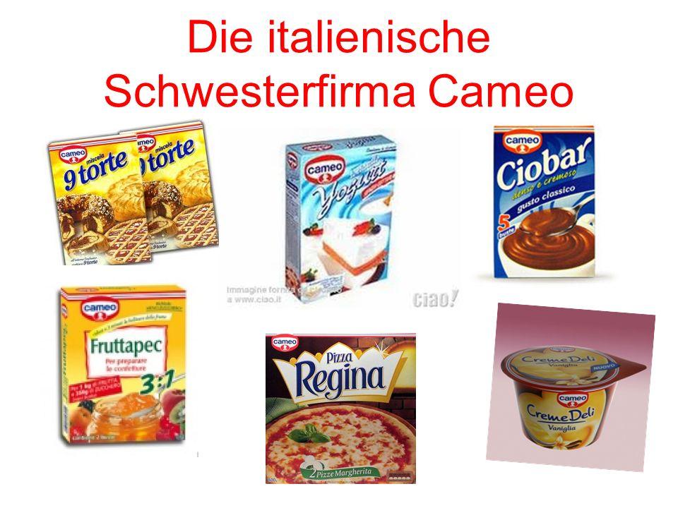 Die italienische Schwesterfirma Cameo