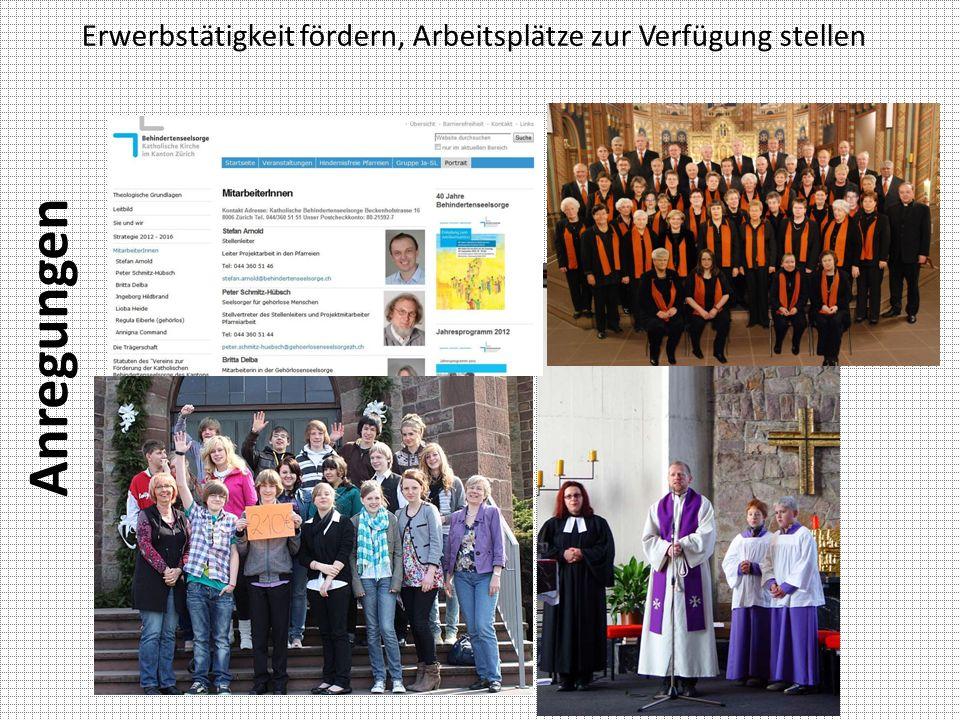 zum Jubiläumsanlass 40 Jahre Katholische Behindertenseelsorge Kanton Zürich
