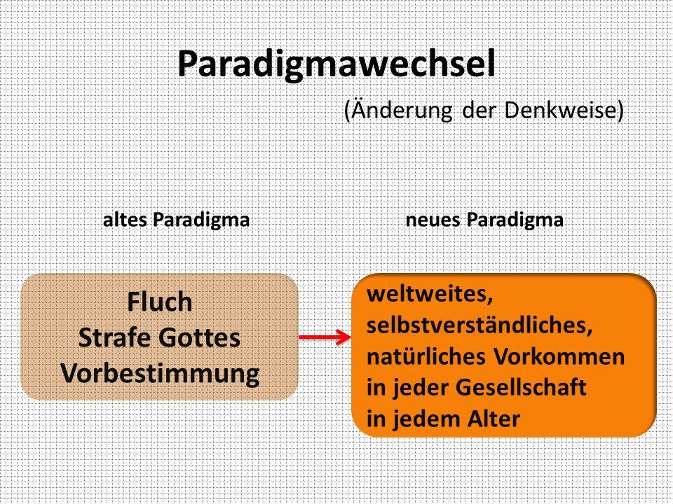 Paradigmawechsel Fluch Strafe Gottes Vorbestimmung
