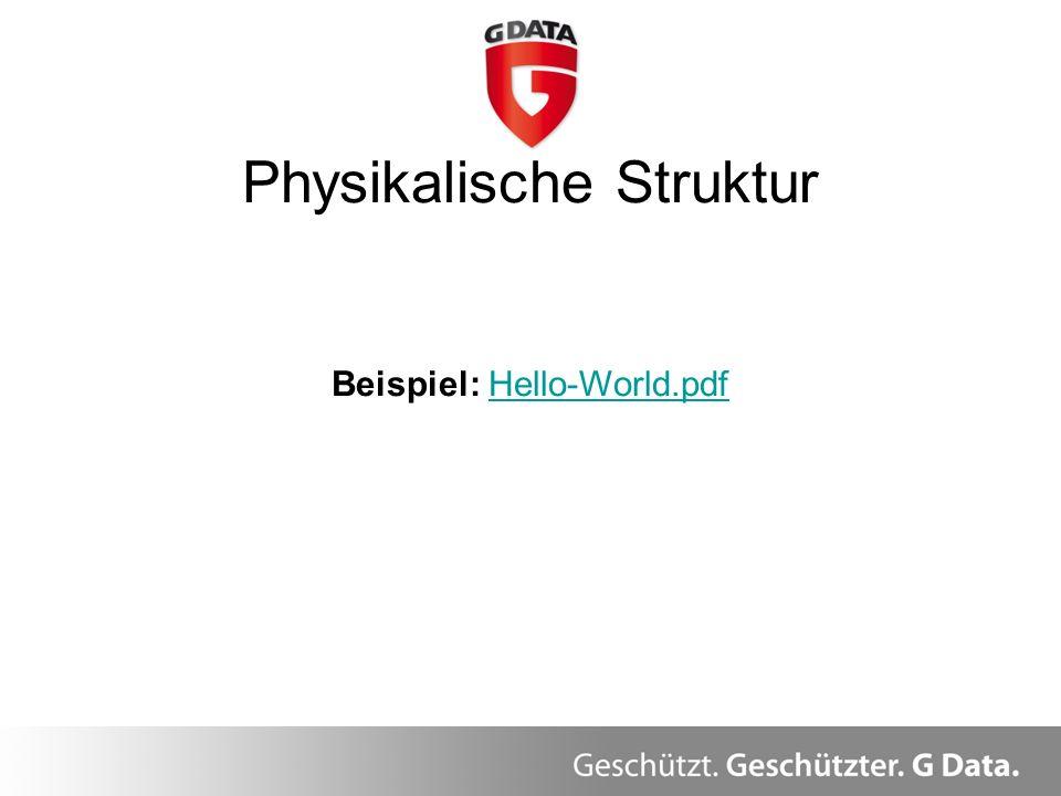 Physikalische Struktur