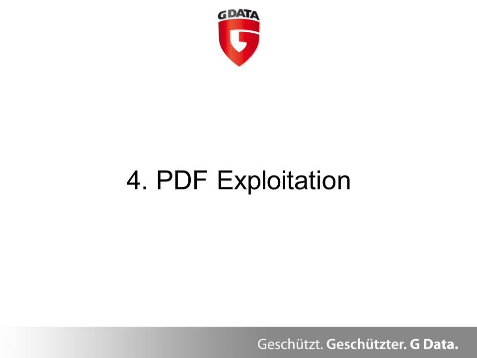 4. PDF Exploitation