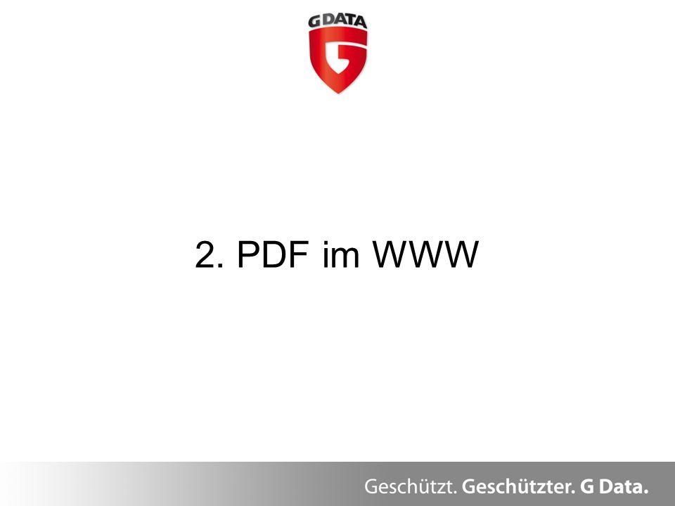 2. PDF im WWW