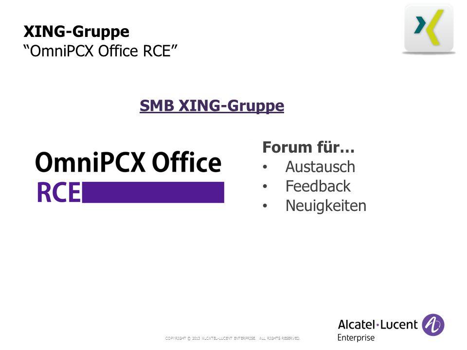XING-Gruppe OmniPCX Office RCE SMB XING-Gruppe Forum für… Austausch Feedback Neuigkeiten