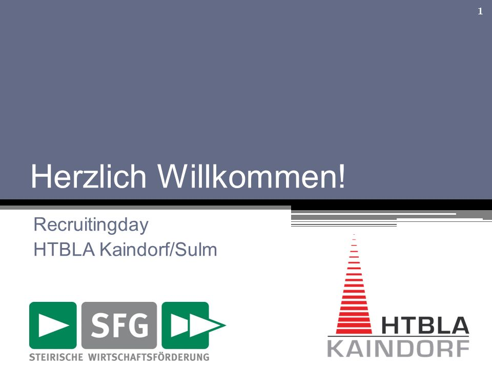 Recruitingday HTBLA Kaindorf/Sulm