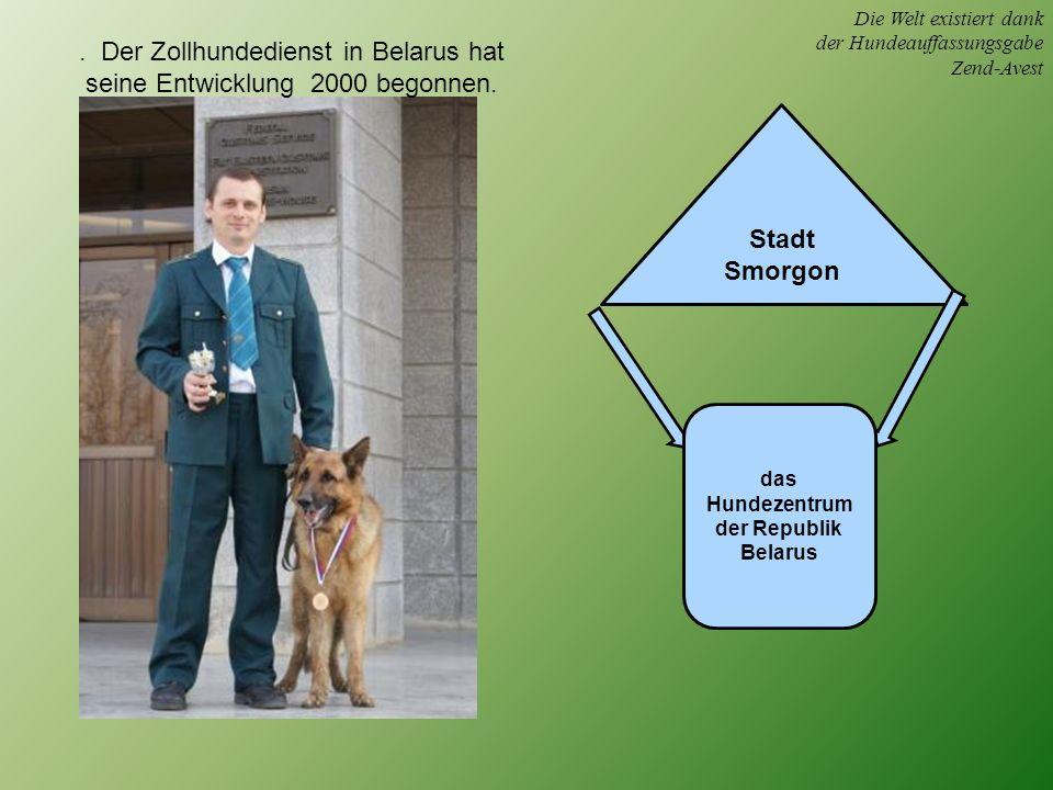 das Hundezentrum der Republik Belarus