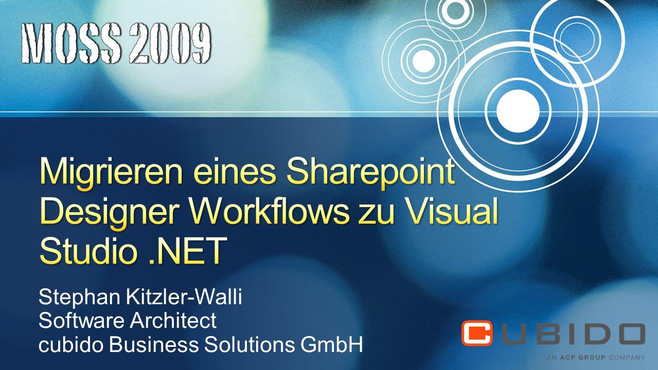 Migrieren eines Sharepoint Designer Workflows zu Visual Studio .NET