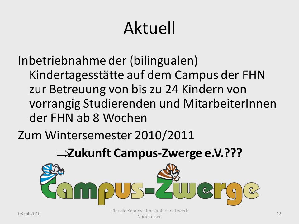Zukunft Campus-Zwerge e.V.