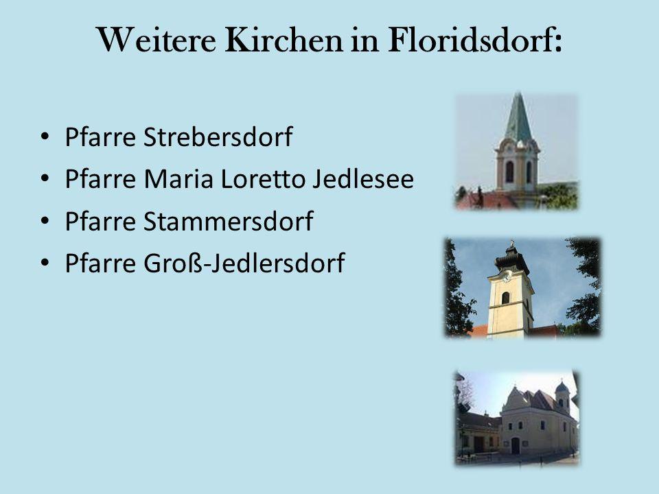 Weitere Kirchen in Floridsdorf: