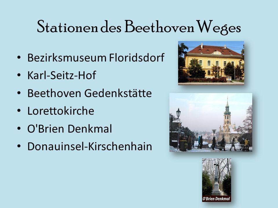 Stationen des Beethoven Weges