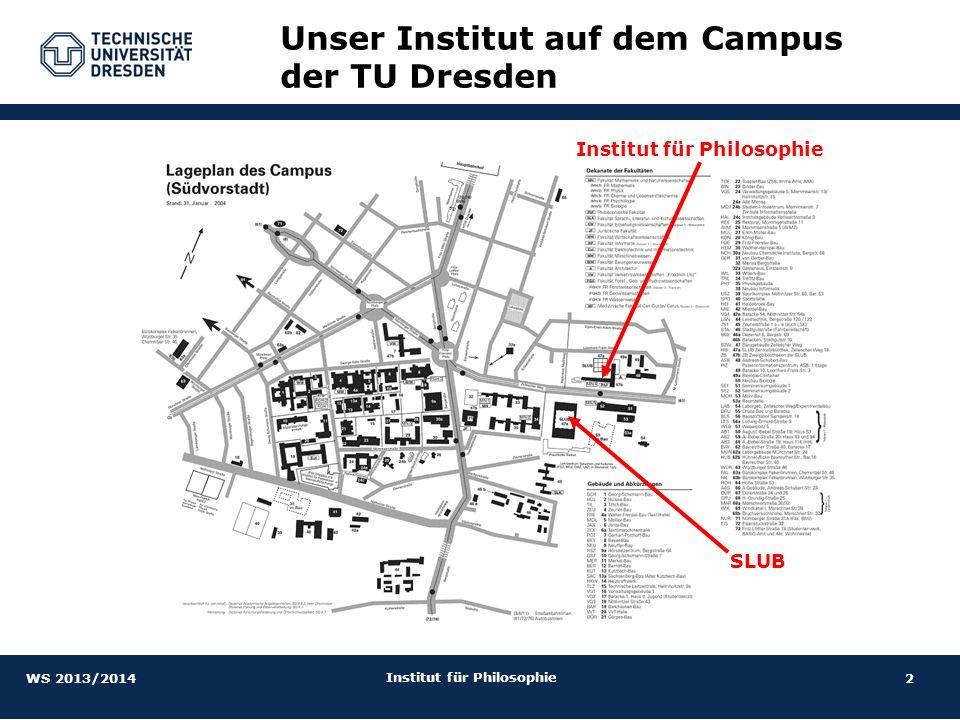 Unser Institut auf dem Campus der TU Dresden