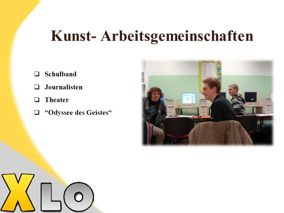 Kunst- Arbeitsgemeinschaften