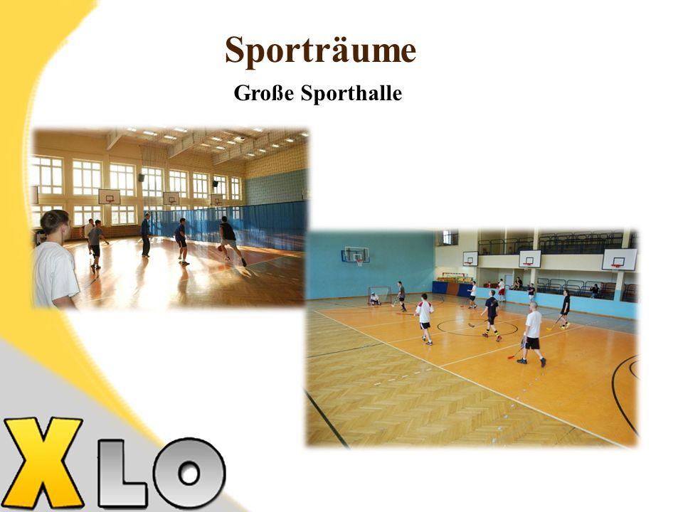 Sporträume Große Sporthalle 22