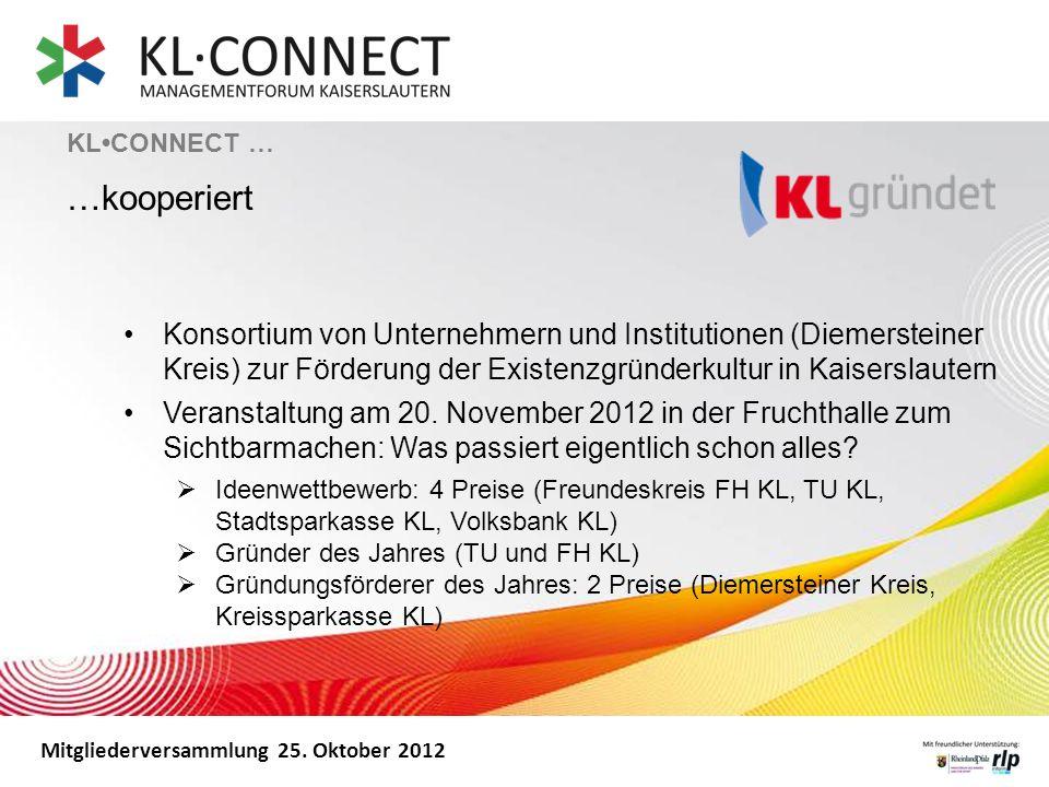 KL•CONNECT … …kooperiert.