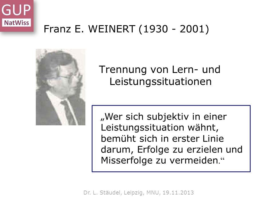 Dr. L. Stäudel, Leipzig, MNU, 19.11.2013