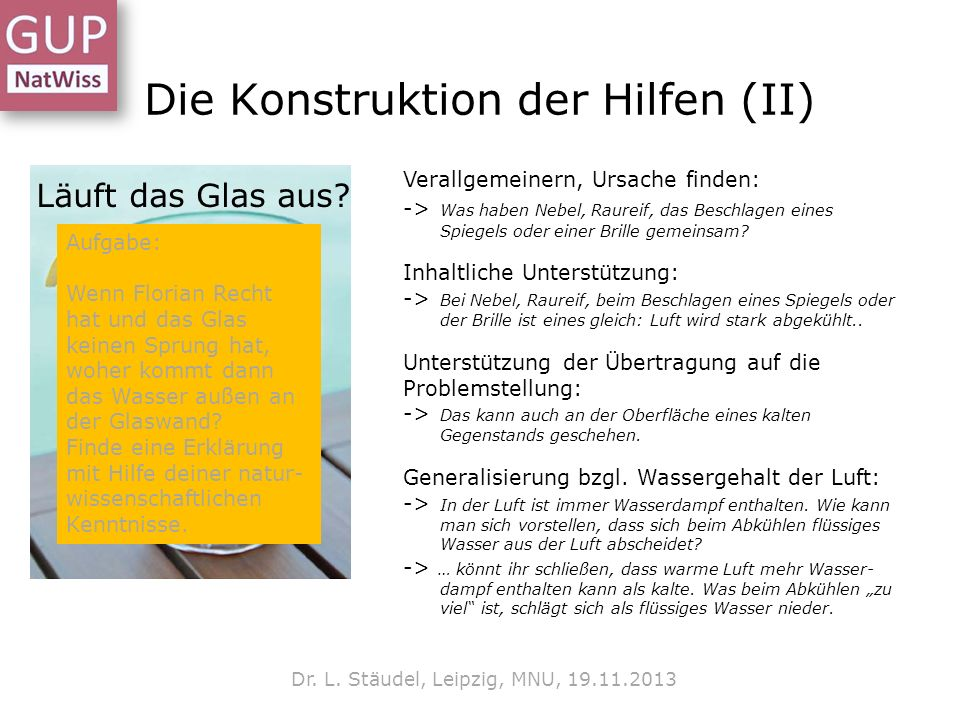 Die Konstruktion der Hilfen (II)