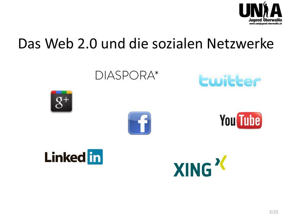 Das Web 2.0 und die sozialen Netzwerke