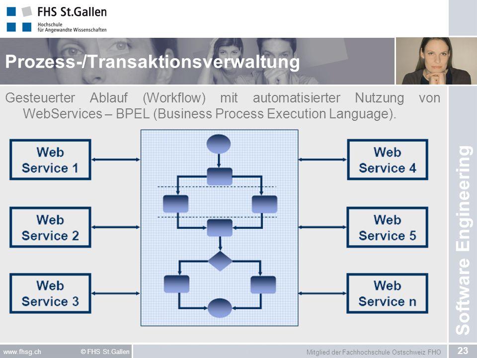 Prozess-/Transaktionsverwaltung