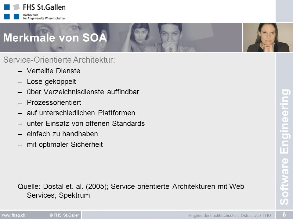 Merkmale von SOA Service-Orientierte Architektur: Verteilte Dienste