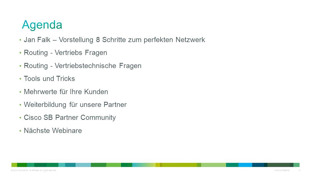 Agenda Jan Falk – Vorstellung 8 Schritte zum perfekten Netzwerk