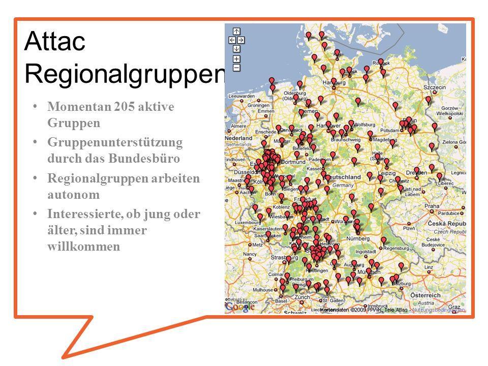 Attac Regionalgruppen