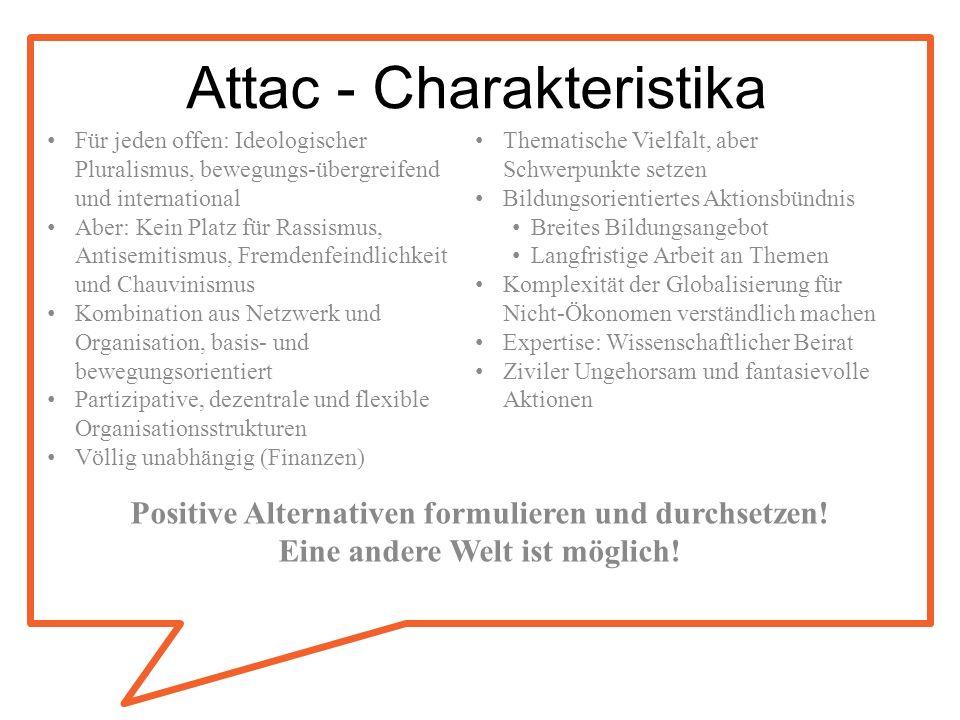 Attac - Charakteristika