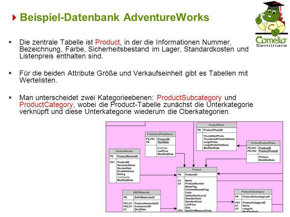Beispiel-Datenbank AdventureWorks