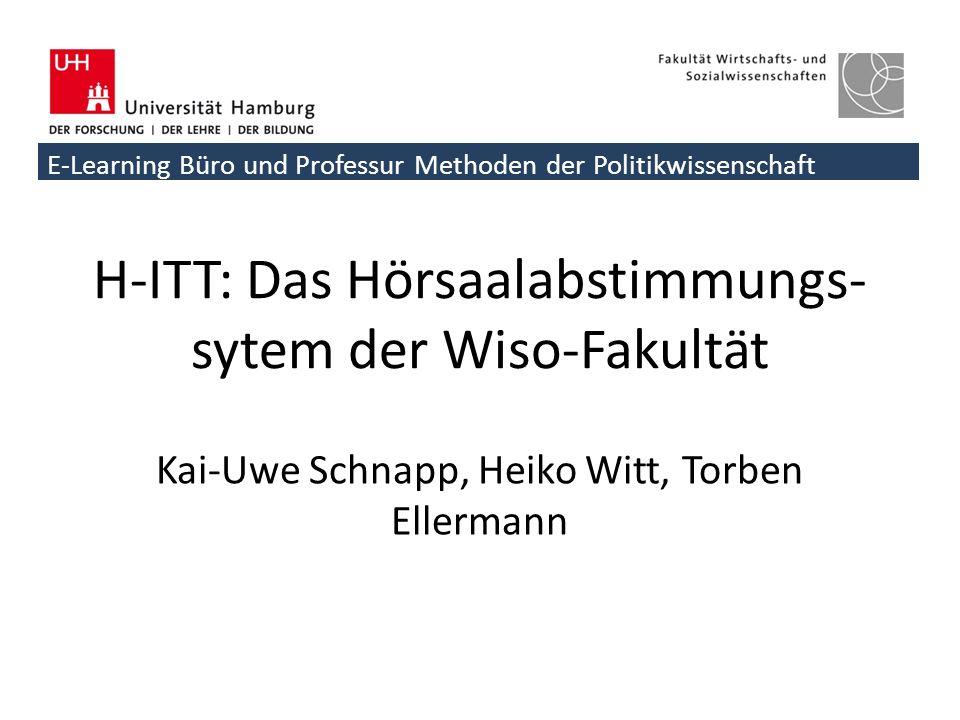 H-ITT: Das Hörsaalabstimmungs-sytem der Wiso-Fakultät
