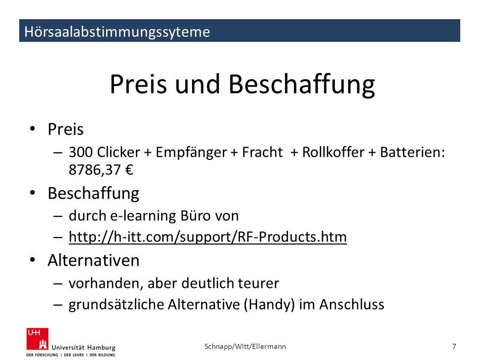 Schnapp/Witt/Ellermann