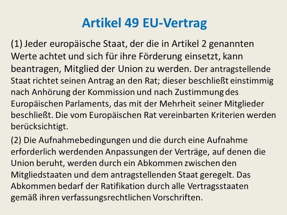 Artikel 49 EU-Vertrag