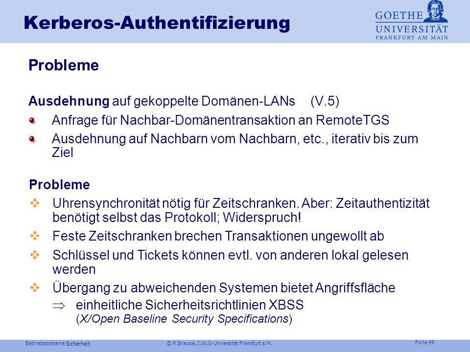 Kerberos-Authentifizierung